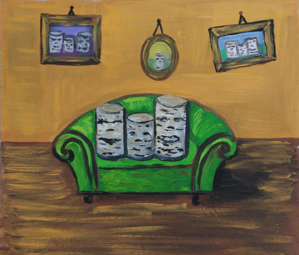 Картина Татьяны Соколовой «Семейный портрет»