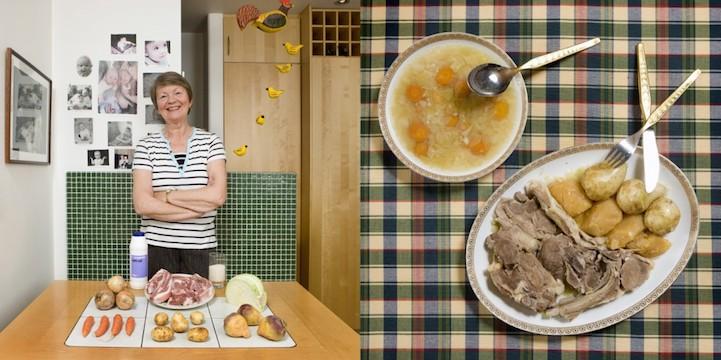 Kjotspa (ягненок и овощной суп)