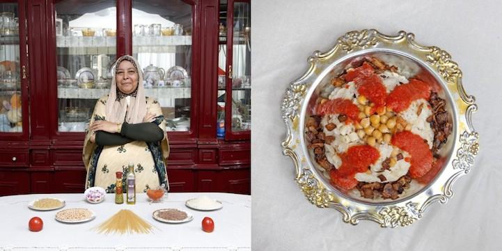 Kuoshry (макароны, рис и бобовый пирог)