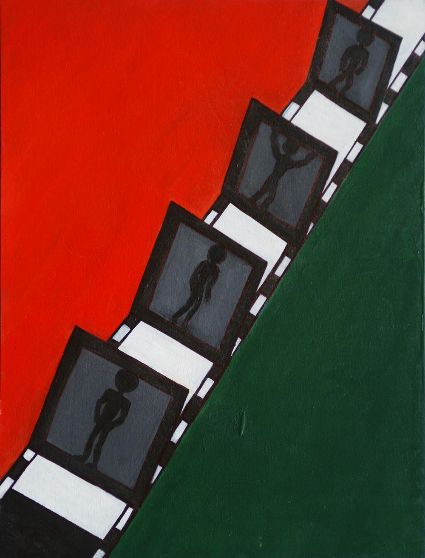 Картина Татьяны Соколовой «Конвейер»