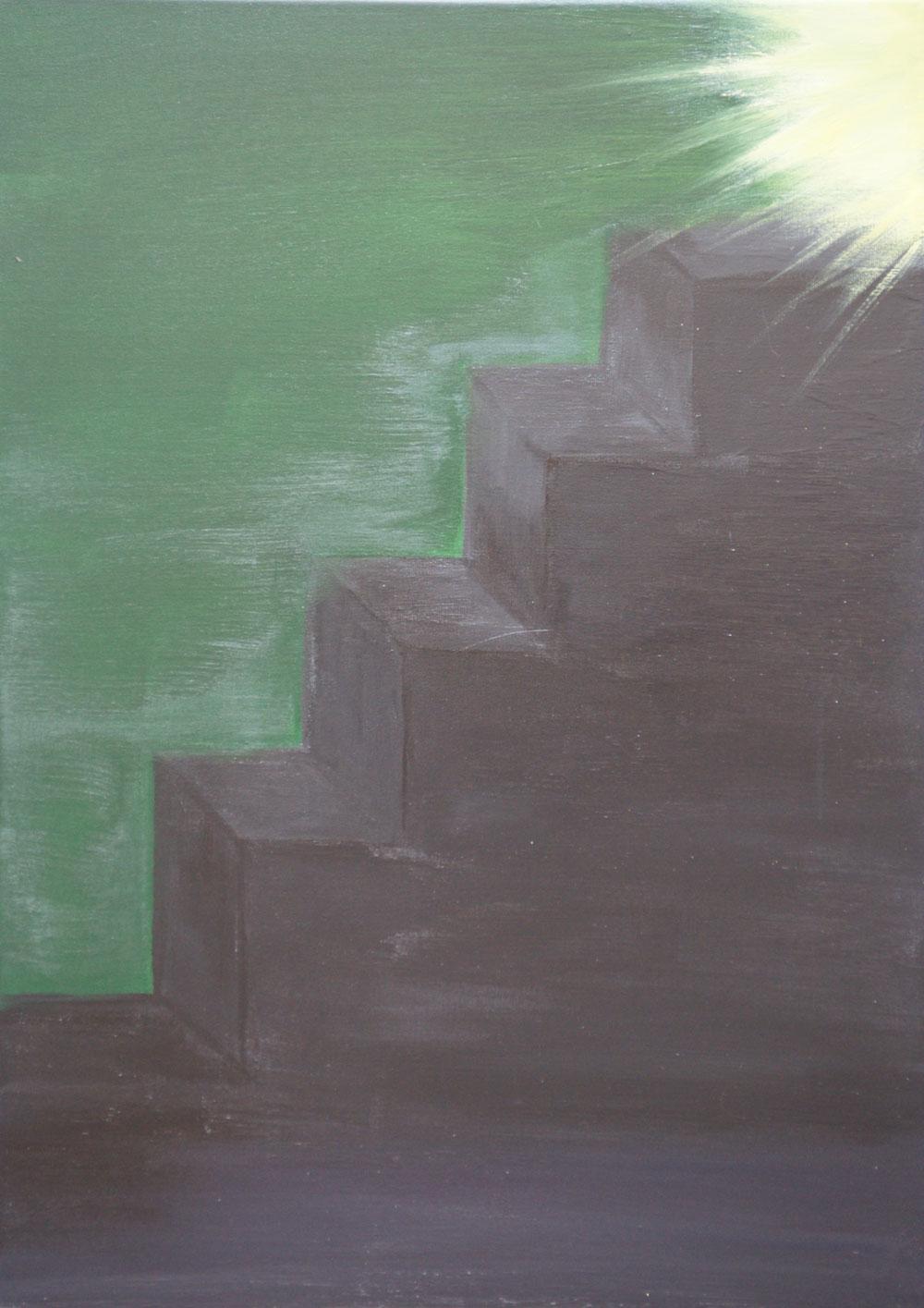 Картина Татьяны Соколовой «Путь к свету»