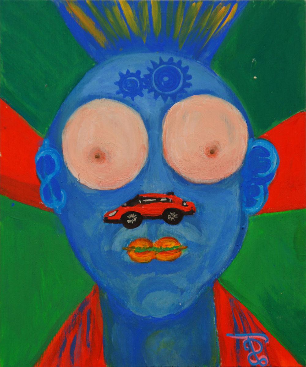 Картина Татьяны Соколовой «Портрет мужчины»