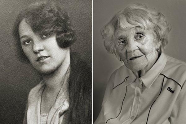 Лица века: портреты долгожителей тогда и сейчас в проекте Яна Лангера