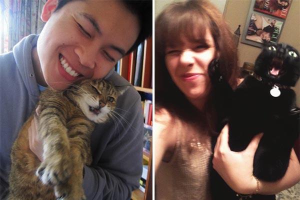 Коты, которые терпеть не могут эти ваши «селфи»