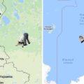 Antipodes map: карта, демонстрирующая противоположную точку Земли