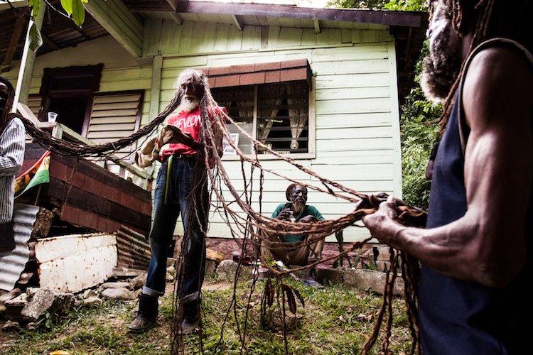 Растафарианцы на Ямайке