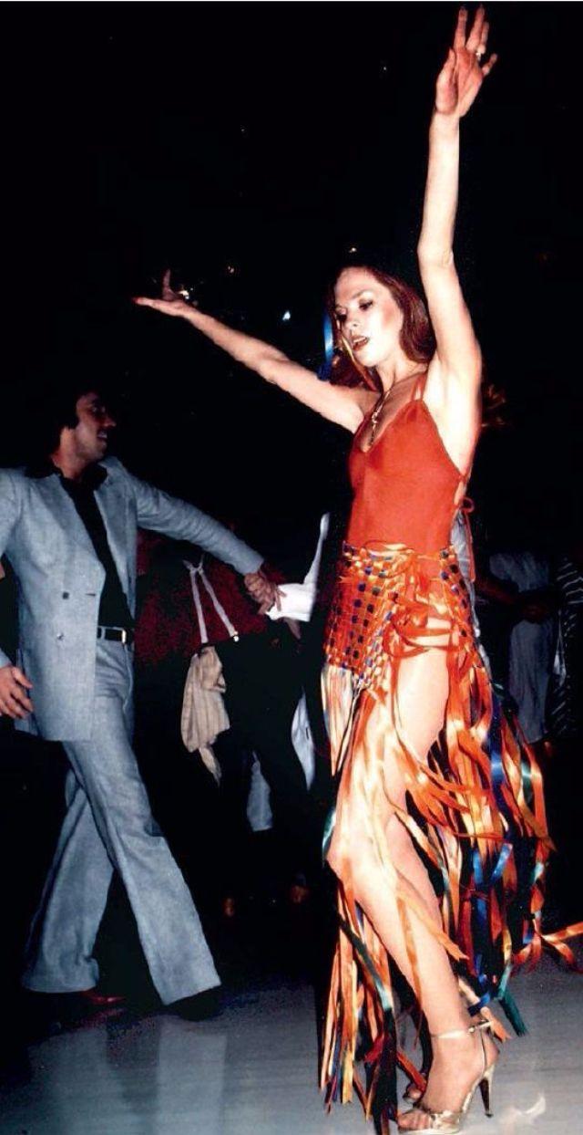 Винтажные фотографии моды в эпоху диско 1970-х годов
