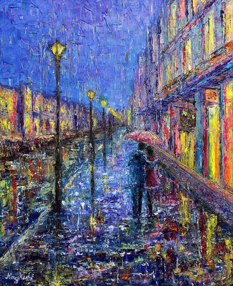 Картины в стиле импрессионизм от Айкуи Хачатрян
