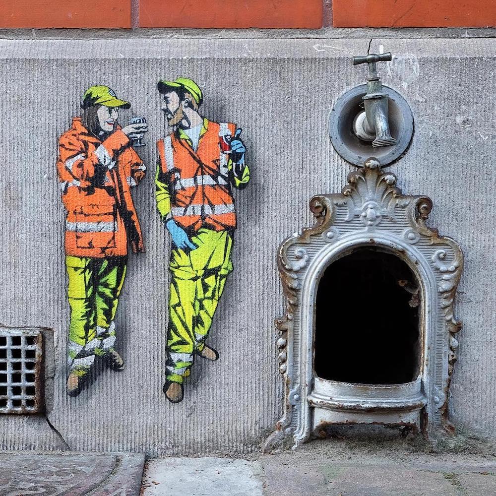 Стрит-арт от Джонатана Пауэлса