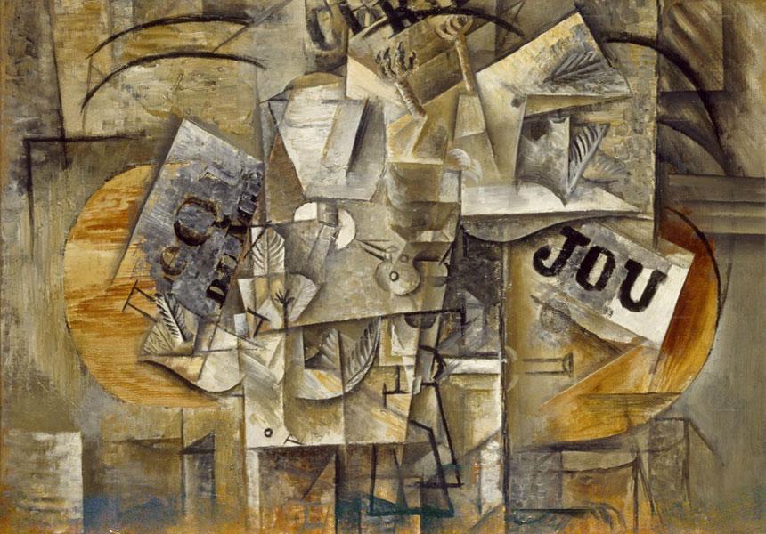 Картина Пабло Пикассо «Мертвые птицы», 1912