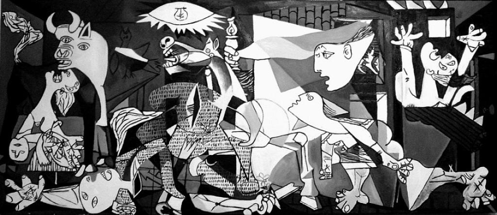 Картина Пабло Пикассо «Герника»