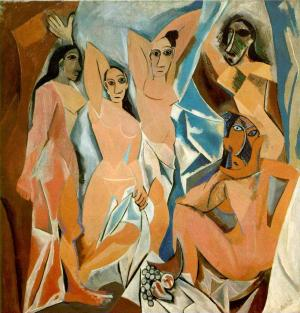 Картина Пабло Пикассо «Авиньонские девицы»