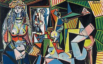 Картина Пабло Пикассо «Алжирские женщины (версия О)»