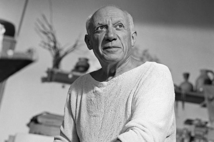 Пабло Пикассо в 1908 году