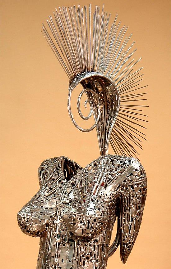 Скульптуры из металлолома от Брайана Мока