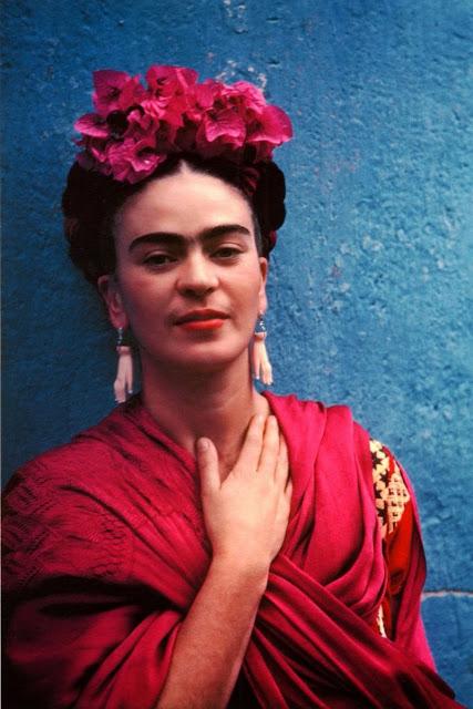 Фотография Фриды Кало в исполнении Николаса Мюрея
