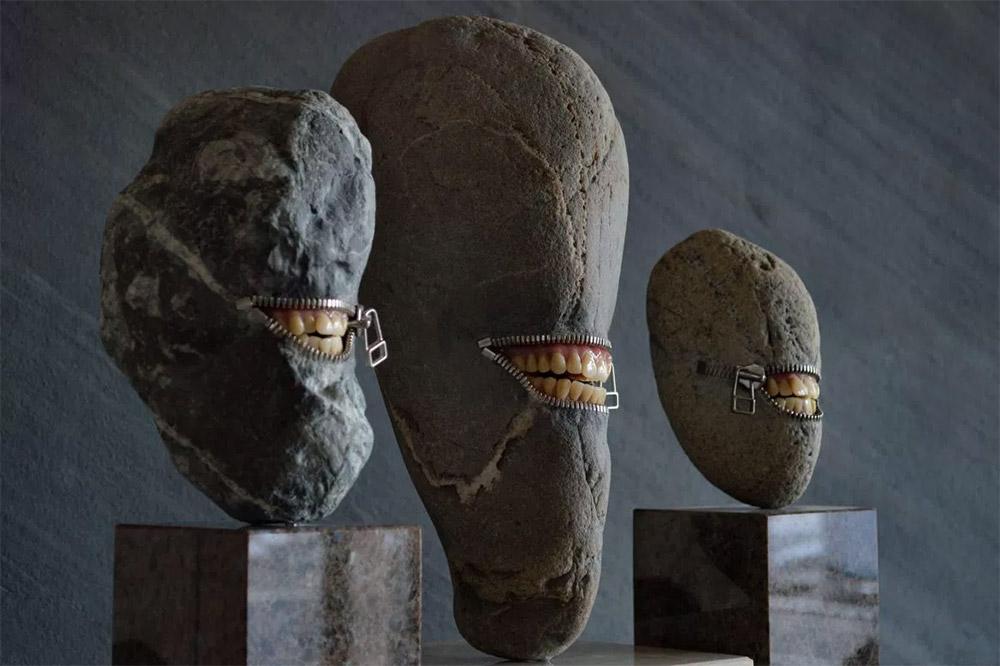 Cкульптуры из камня от Хиротоши Ито