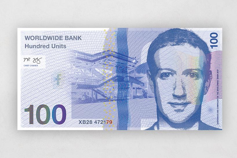 Банкнота Facebook