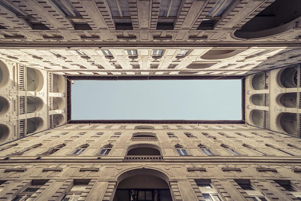 100-летние здания Будапешта в объективе Жольта Хлинки