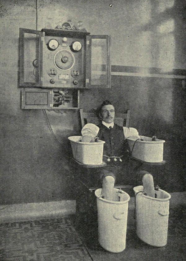 Электрические ванны для лечения ревматизма