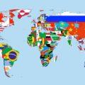 Самые популярные запросы в Google на карте мира онлайн