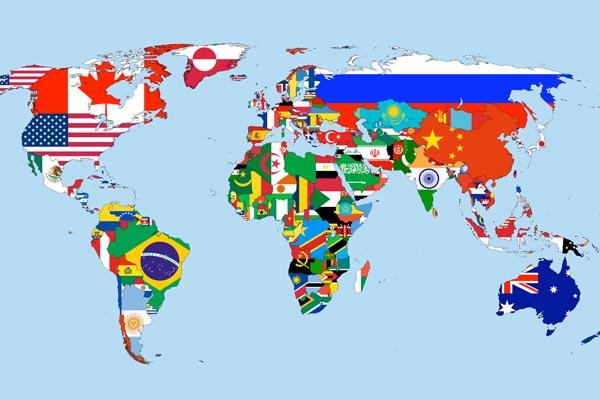 Самые популярные запросы в Google на карте мира