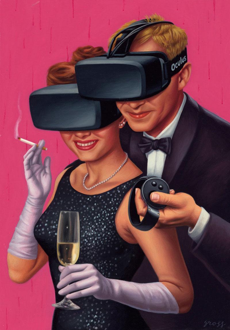 Проблемы современного общества в картинах Алекса Гросса