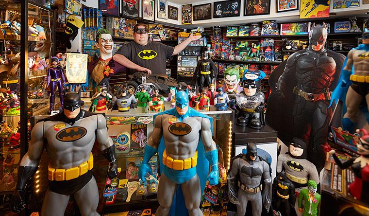 Самая большая коллекция вещей, посвящённая Бэтмену