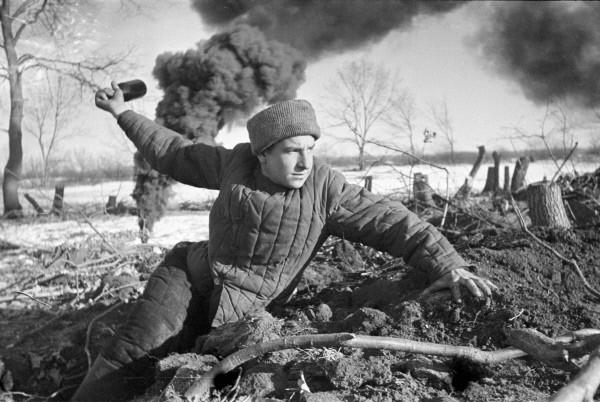 Боец Красной армии, Сталинград