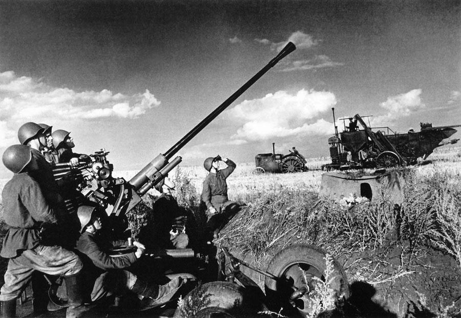 Попытка собрать урожай в 1941 году, СССР