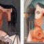 MIMIC II: произведения Пабло Пикассо в трёхмерных иллюстрациях