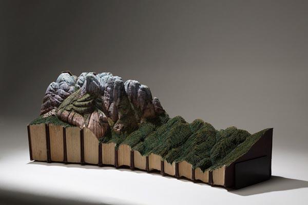 Красивые произведения, созданные при помощи необычных материалов