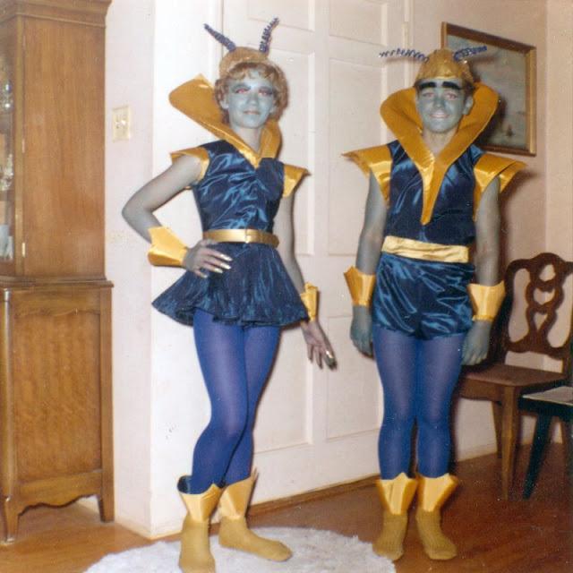 Винтажные фотографии костюмов на Хэллоуин в 60-х годах