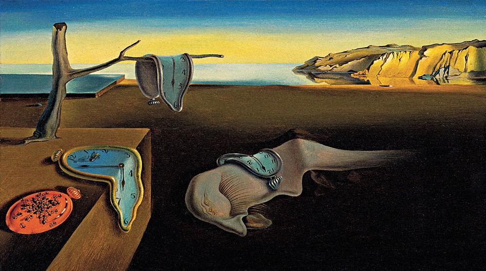 Знаменитая картина Сальвадора Дали «Постоянство памяти»