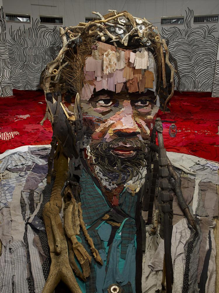 Необычные анаморфные портреты от Бернарда Праса