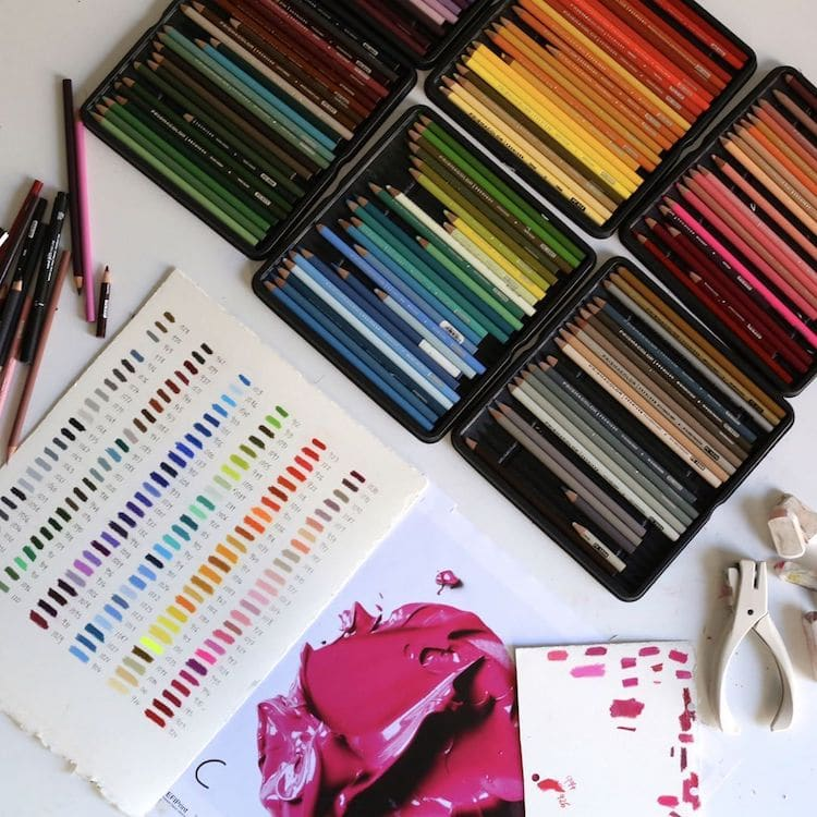 Живопись карандашом от Сиджей Хендри