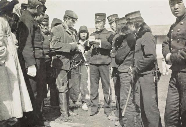 Джек Лондон задержан в Корее, 1904 год