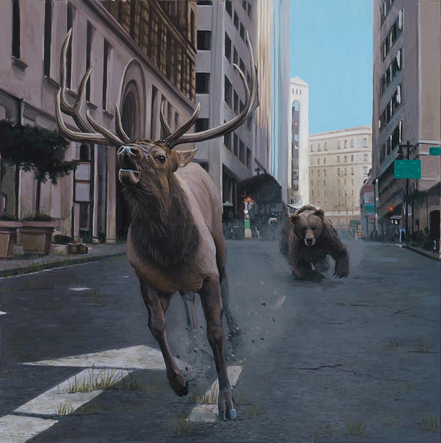 Результаты экологических проблем в картинах Джоша Кейса