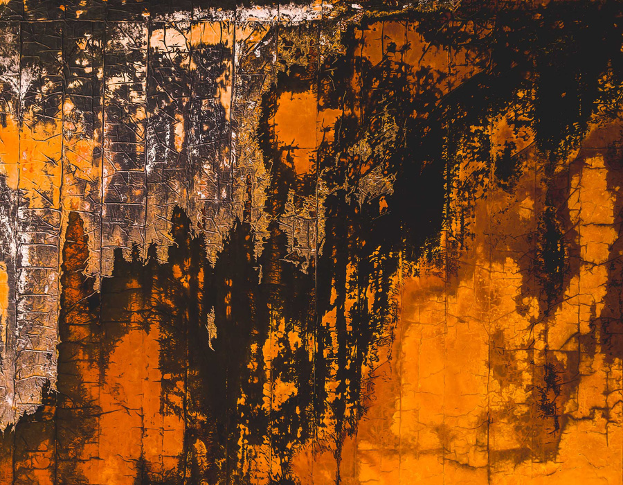 Австралийские ландшафты, похожие на абстрактную живопись