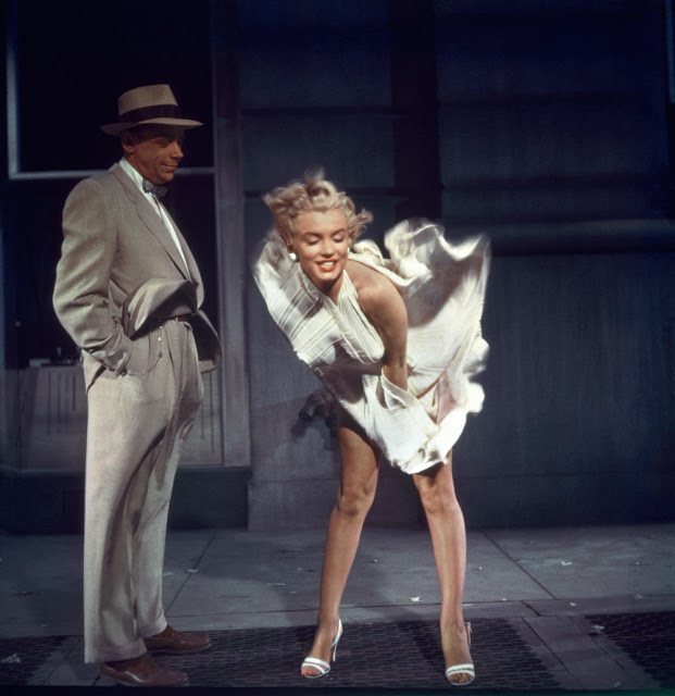 Взмывающий подол платья: самый знаменитый снимок с Мерлин Монро