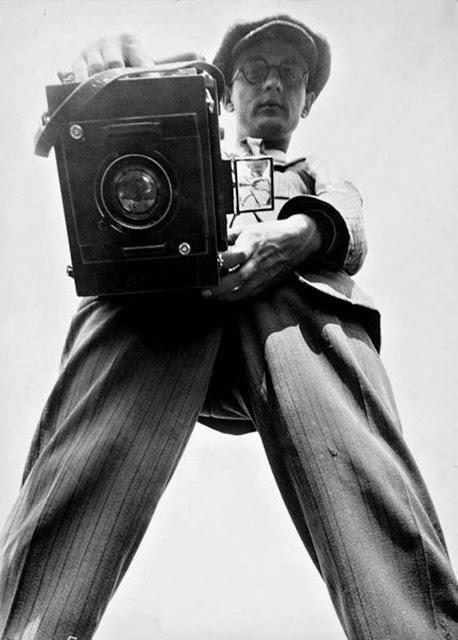 Немецкий фотожурналист Вилле Руге, 1927 год