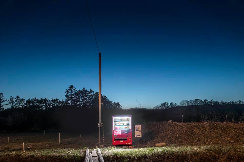 Торговые автоматы Японии в фотографиях Эйджи Охаши
