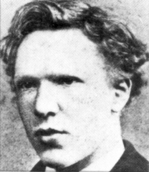 Ван Гог в возрасте 18 лет