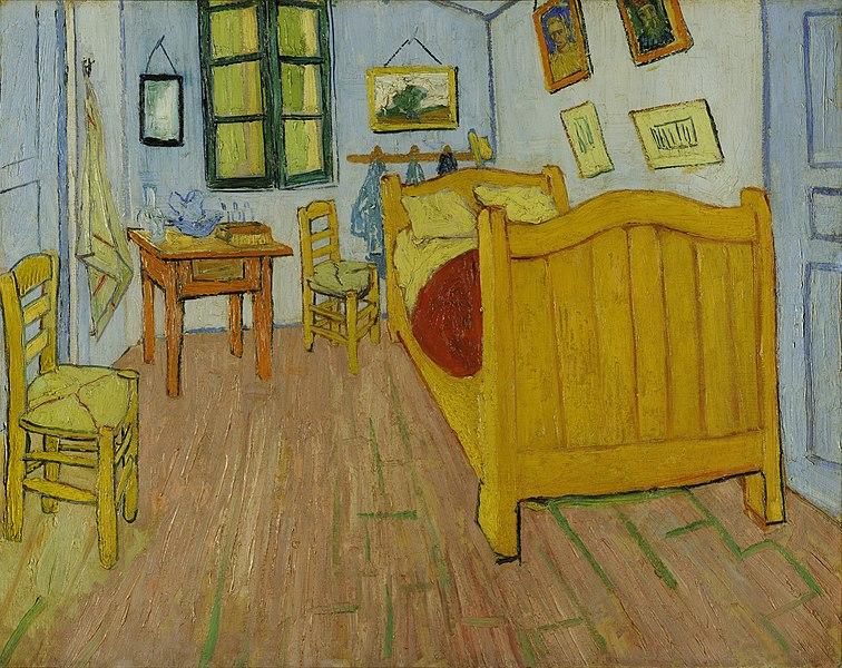Спальня в Арле (первый вариант). 1888 год