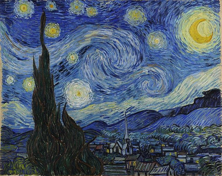 «Звёздная ночь», 1889 год