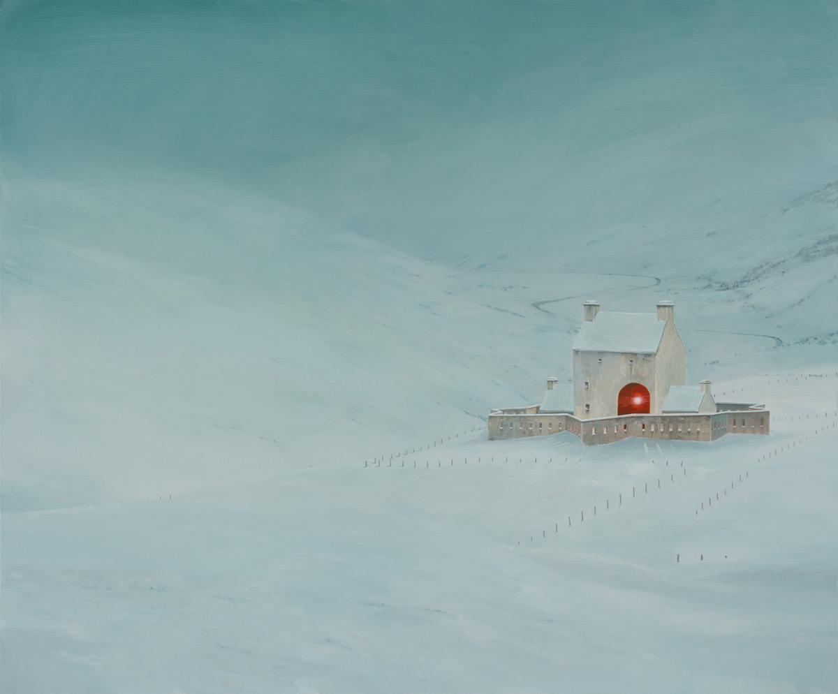Порталы в другие миры: новые работы художника Эндрю Макинтоша