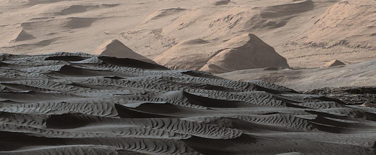 Поверхность Марса, 2015 год