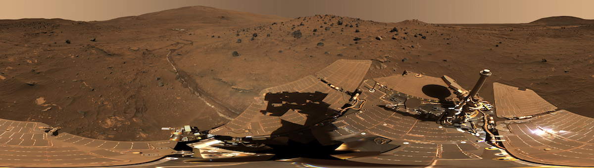 360-градусная панорама с марсохода«Спирит»