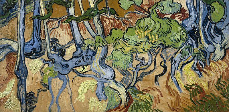 «Корни деревьев», 1890 год