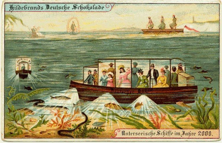 Подводные корабли для туристов